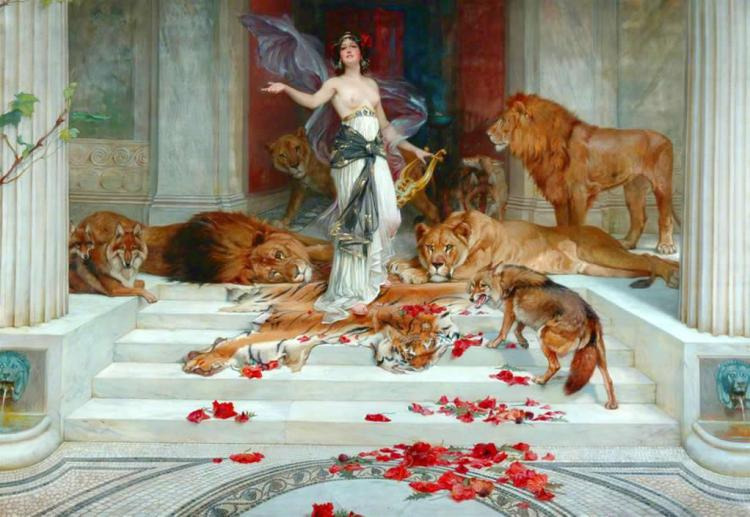 Circe_by_Wright_Barker_(1889)